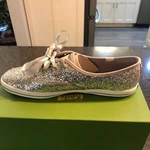 Kate Spade for Keds Glitter Tennis Shoe